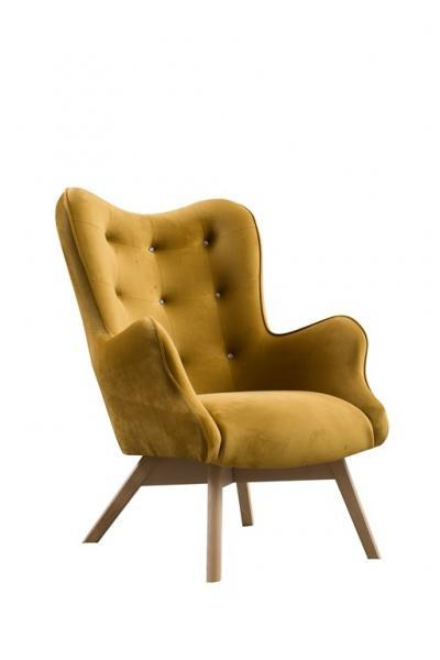 fotel capri krysztal noga drewno buk velluto 8