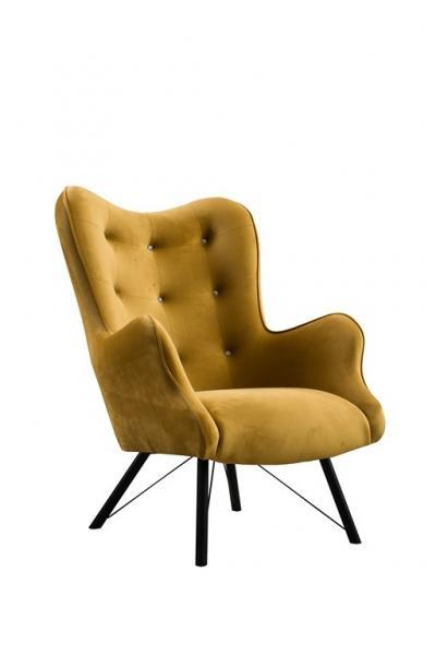 fotel capri krysztal noga metalowa velluto 8